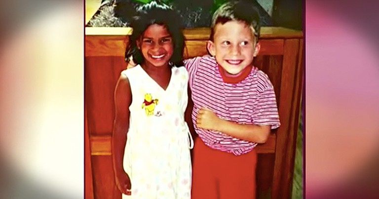 Preschool Sweethearts Wed 20 Years Later