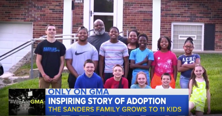 Foster Parents Grow Their Family To 11
