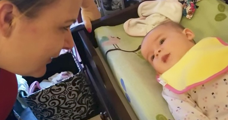 5-Month-Old Baby Girl Can Already Say 'I Love You'