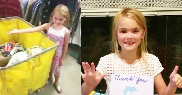 6-Year-Old Sweetly Asks For Charity Donations Instead Of Birthday Presents
