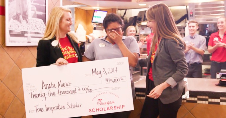 Deserving High School Student Receives Chick-Fil-A College Scholarship