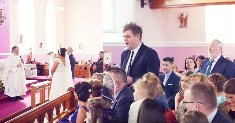 Bride Surprised With Thoughtful 'How Great Thou Art' Flash Mob
