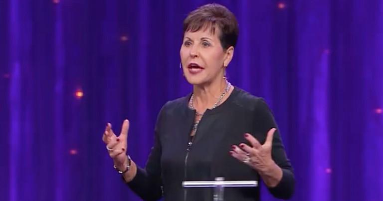 Joyce Meyer Talks Forgiving People When It's Hard