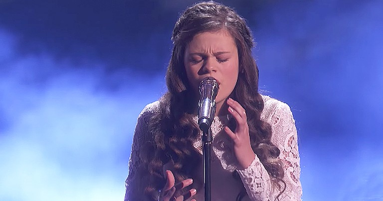Talented 13-Year-Old Sings Breathtaking Rendition Of 'Gravity'