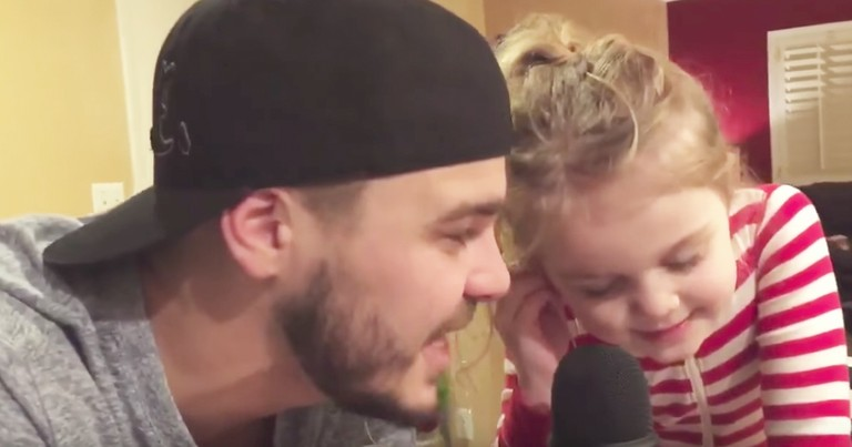 5-Year-Old Girl's Heartwarming Daddy-Daughter Duet To 'True Colors' From Trolls Movie