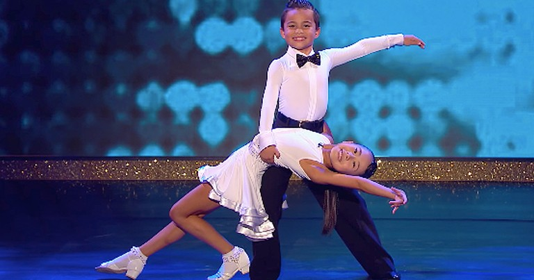Talented Dancing 9-Year-Old's Blow Audience Away