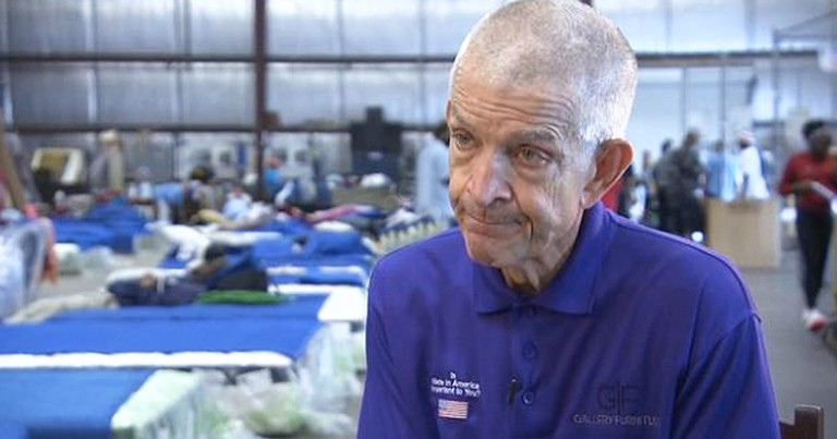 Selfless Furniture Store Owner Opens Doors To Flood Victims
