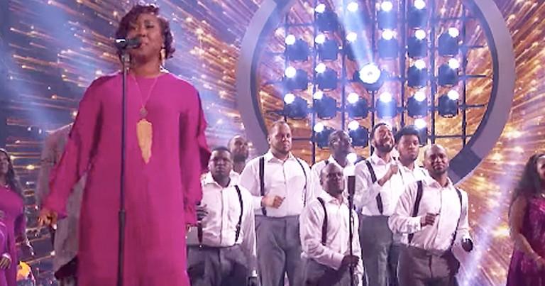 Gospel Choir's Breathtaking Cover Of Aerosmith Song Wows Crowd