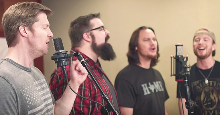 Home Free's Beautiful Rendition Of 'God Blessed Texas'