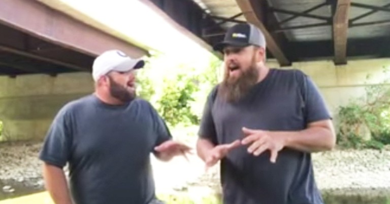 Singing Contractors Dedicate 'Unclouded Day' To Hurricane Survivors