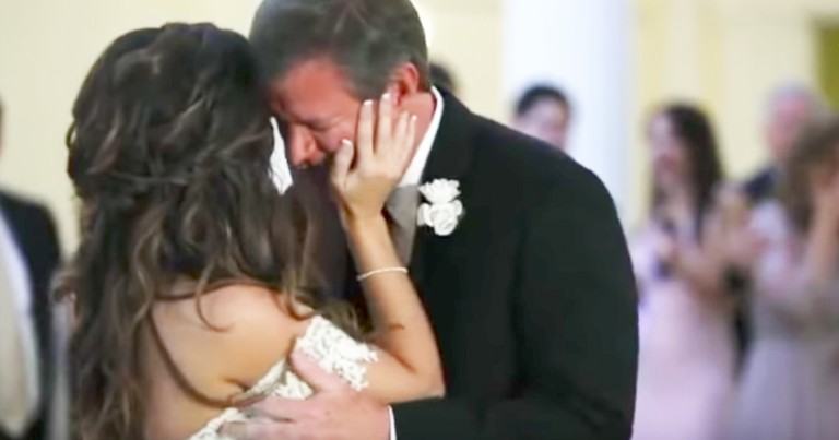 Dad Breaks Down In Tears During Father-Daughter Dance Surprise