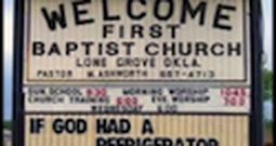 More Funny and Unique Church Signs - Part 3