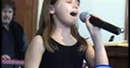 8 Year Old Girl Beautifully Sings How Great Thou Art