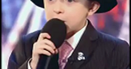 7 Year Old Singer Just Wants to Make Mommy Proud