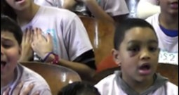 Inner City Children's Choir Sing a Moving Christian Song