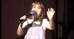 Adorable Kaitlyn Maher Sweetly Sings America the Beautiful