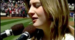 14 Year-Old Autistic Girl Stuns Thousands With Her Performance of the National Anthem