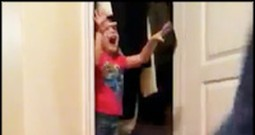 Playful Little Girl Pulls Off an Adorable Prank on Her Daddy