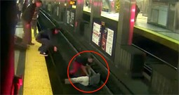 Group of Strangers Save an Unconscious Man from Certain Death - Thank the Lord!