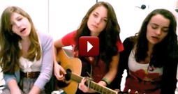 Three Incredibly Talented Girls Sing Hallelujah - You May Get Chills
