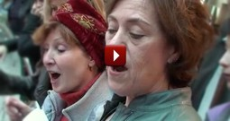A Choir in Paris Shocks Onlookers With This Gospel Performance