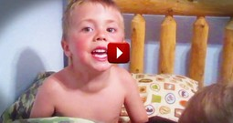 Apparently This Little Boy Sings His Own Lullabies. And He Picked My Favorite Easter Song!