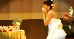 The Surprise That Left This Bride In Tears Will Make You Joyful, Joyful! This Is So Cool!