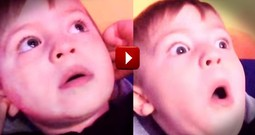 What This Boy Saw AMAZED Him.  He Had The Most Epic Reaction EVER!