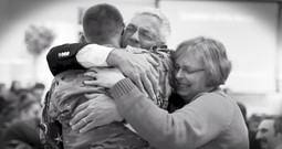 A Soldier's Surprise Reunion With His Family At Church