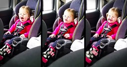 2-Year-Old Backseat Lip Sync Is The CUTEST!
