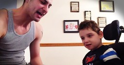 Dad Transforms Son With Special Needs With THIS! Wow.