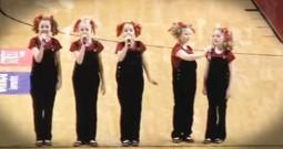 Cactus Cuties' AMAZING Performance Of National Anthem!