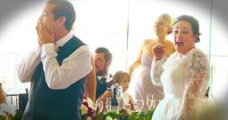Music Star Surprises Deserving Wedding Couple!
