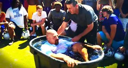 He Got Baptized On The School Football Field. And The World's Reaction Will Amaze You!