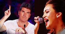 When Simon Stopped Her I Gasped. But When She Started Singing Again...WHOA!