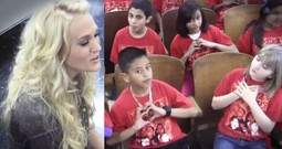 Carrie Underwood Joins a Children's Choir for a Beautiful Song