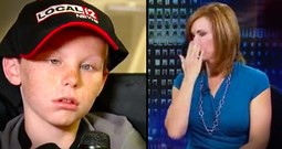 Anchors Cry On TV After Story Of Dying Little Boy Who Still Believes In Miracles