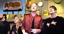 Cracker Barrel Diners Get A Huge A Cappella Surprise