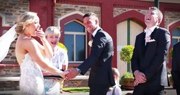 Ring Bearer Stopped The Ceremony For The Funniest Reason