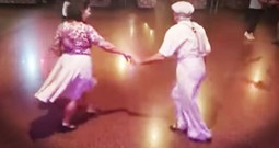 Swing Dancing Couple Proves Age Is A Number
