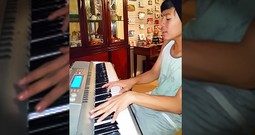 Boy's 'You Are So Beautiful' On Piano Will Move You