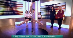 Pole Dancing 'Exercise' For Little Girls Will Outrage You