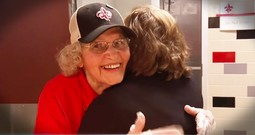 92-Year-Old Lunch Lady Inspires Students With Love