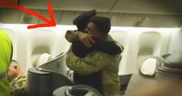Pilot Surprises Soldier Son In A Beautiful Way