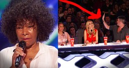 Simon Stopped Her Audition But Her Come Back Is Amazing