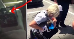 Puppy Left In Hot Car Gets Incredible Police Rescue