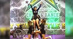 Wheelchair Bound Cheerleader's Performance Will Inspire You