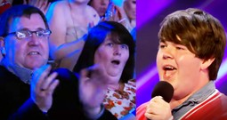 Son Surprises His Parents Sitting In The Audience With His BIG X Factor Audition