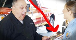 Chef Who Volunteers His Time Cooking For Firefighters Get A Surprise 'Thank You' He Truly Deserves