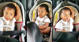 Toddler Bursts Into Precious Song In His Carseat